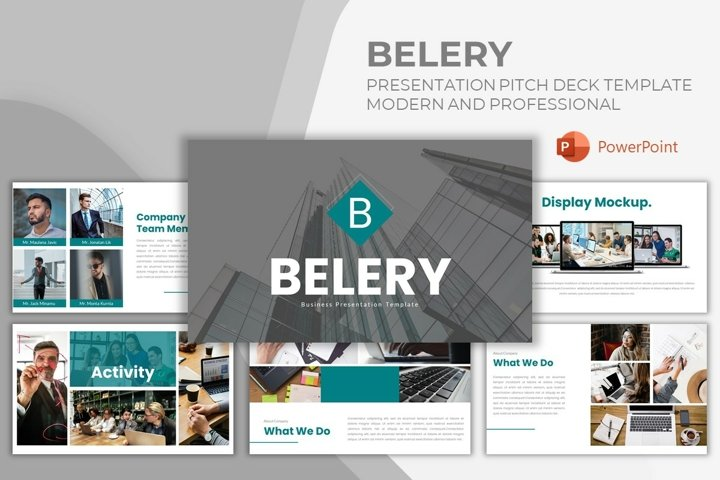 Pitch Deck Powerpoint Template - Belery