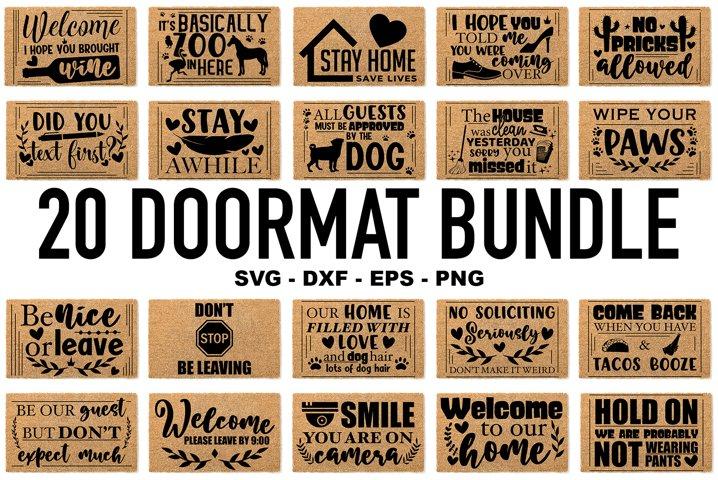 Doormat Bundle SVG - Funny Doormat Quotes - Home SVG