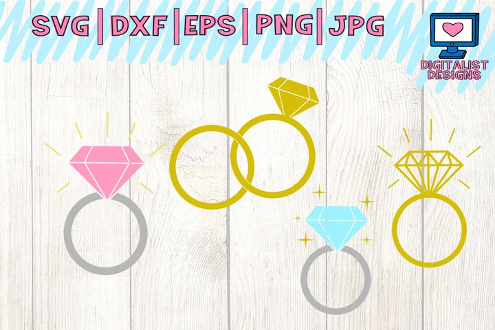 wedding svg, bridal shower, mr and mrs, wedding ring svg, silhouette, vector, cricut cut files, circle monogram svg, bridal monogram