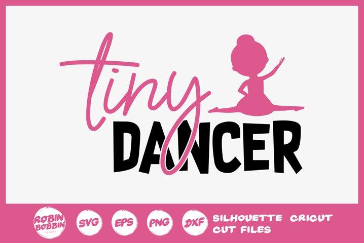 Tiny Dancer SVG - Ballet SVG File