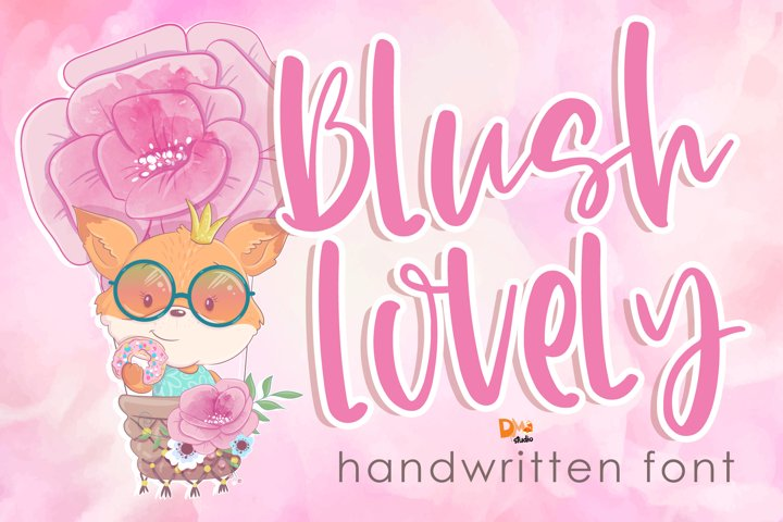 Blush Lovely - Handwritten Font