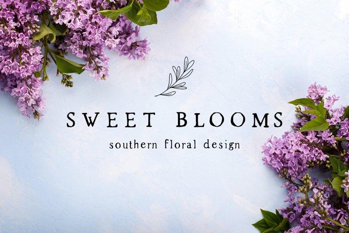Spring Market - Rustic Serif Font - Free Font of The Week Design5