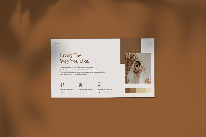 Sasqia - Minimalist Google Slides Template