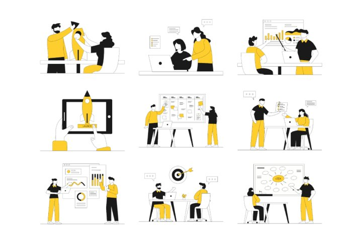 Startup Business Illustration Vol 2