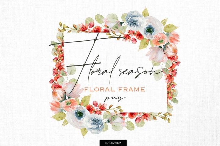 Floral season. Frame#1