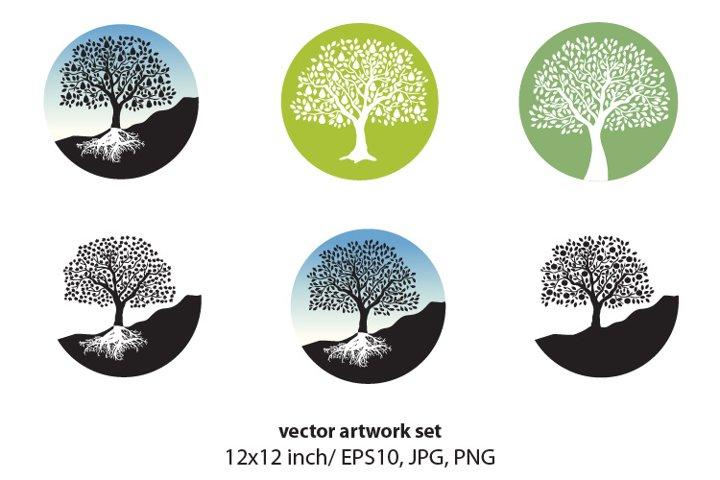 FRUIT TREE- VECTOR ARTWORK SET