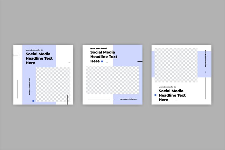 Modern Social Media banner template can be edited.