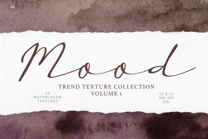 Dark and Moody Watercolor Textures