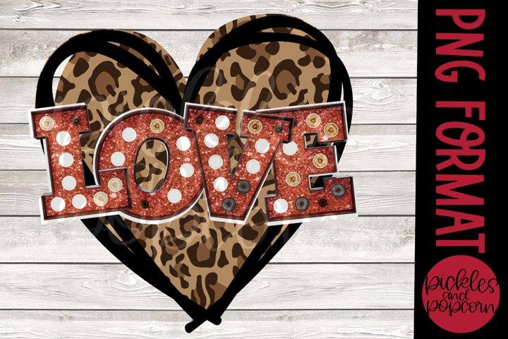 Marquee Love Heart