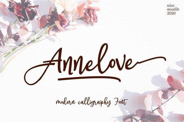 Annelove || Casual Handwritting