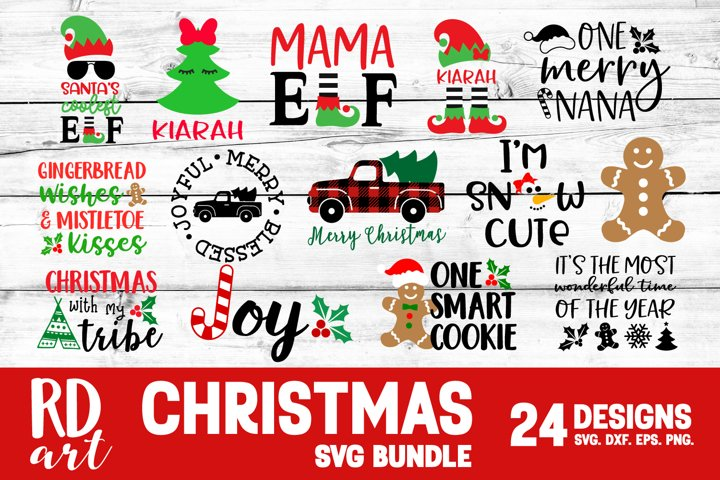 Christmas Bundle SVG, DXF, PNG, EPS
