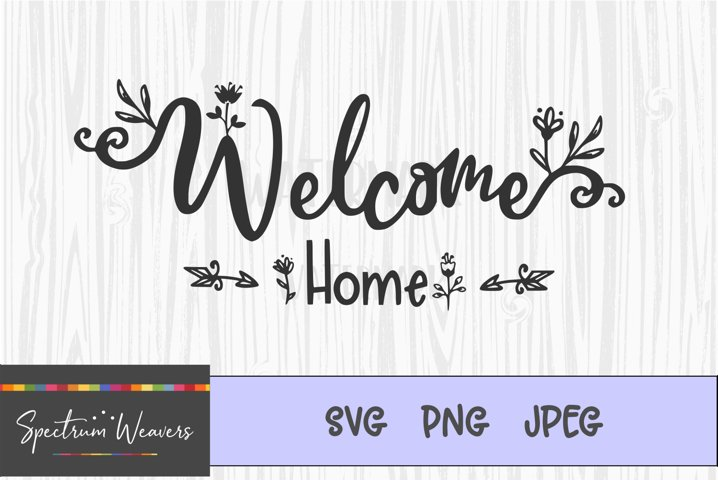 Welcome home cut file