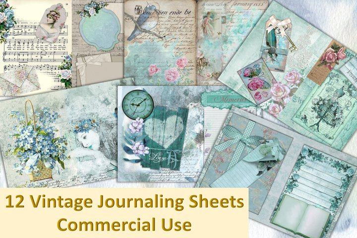Vintage Victorian Backgrounds with Free Ephemera Kit. CU