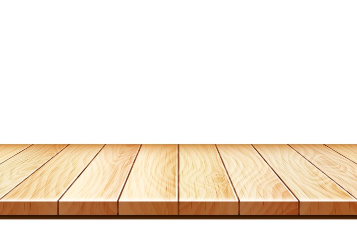 Wooden Stand Or Apartment Parquet Floor Vector