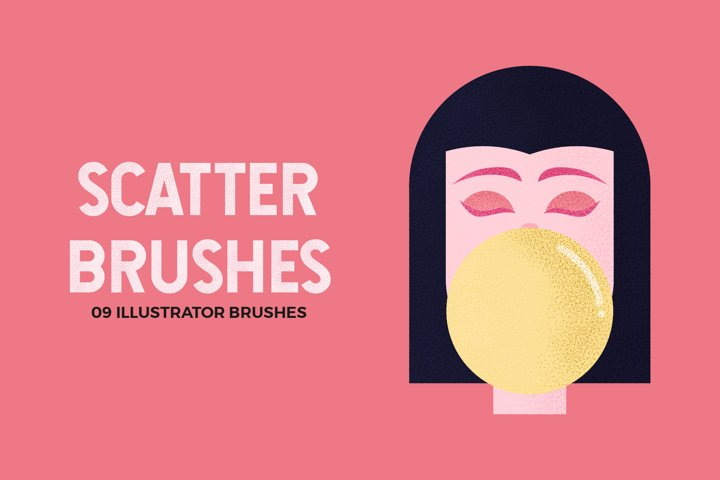 Scatter Brushes for Illustrator