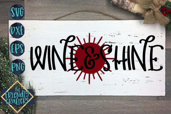 Wine & Shine - Wine SVG