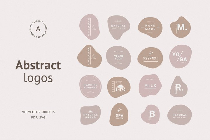 Abstract Premade Branding Logos