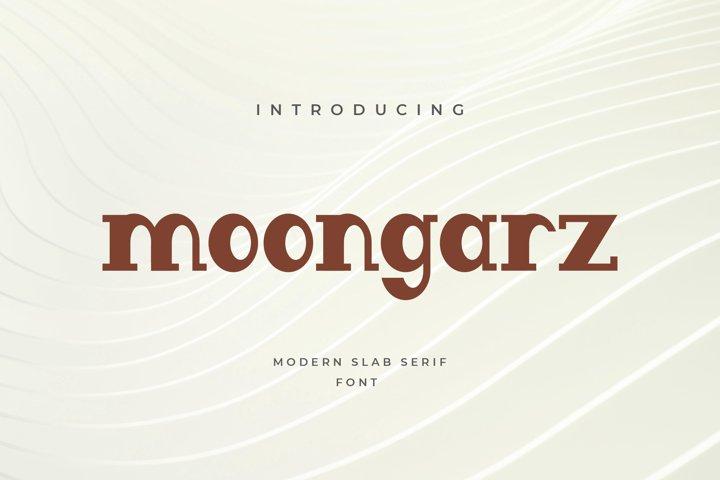 Moongarz Serif font