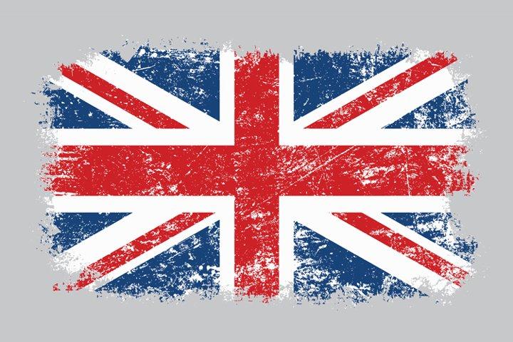 Grunge Old Distressed UK Flag