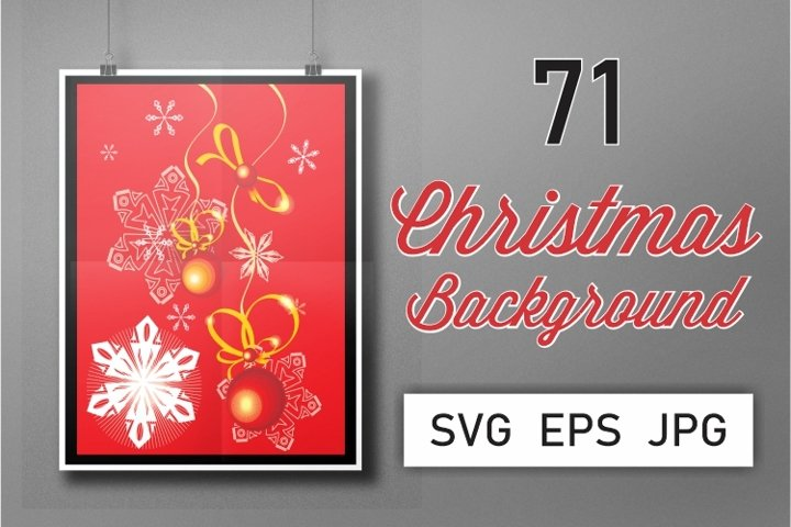 71 Christmas Background Collection