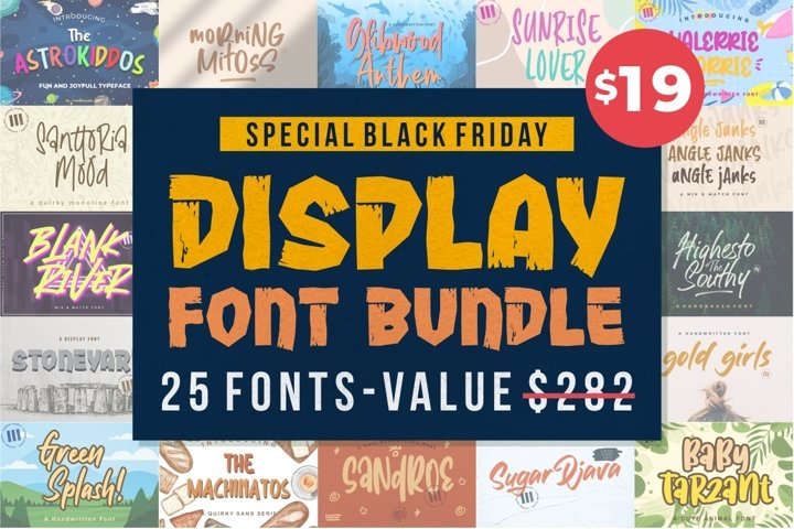 Bundle // Display Font