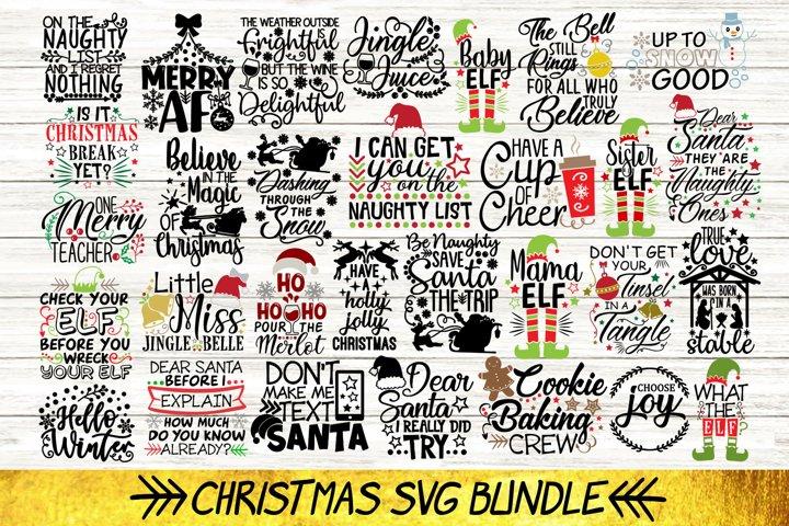 Christmas Bundle Svg Volume 3, Merry Christmas Svg, Holiday