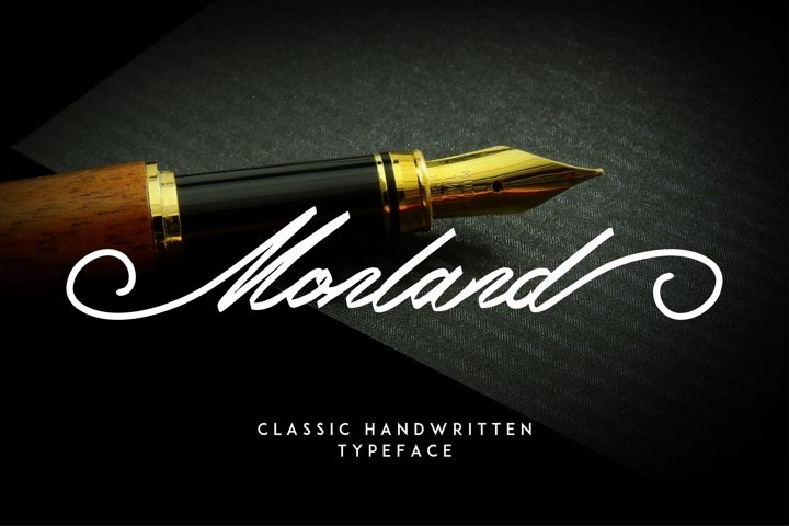 Monland Script   Classic Handwritten