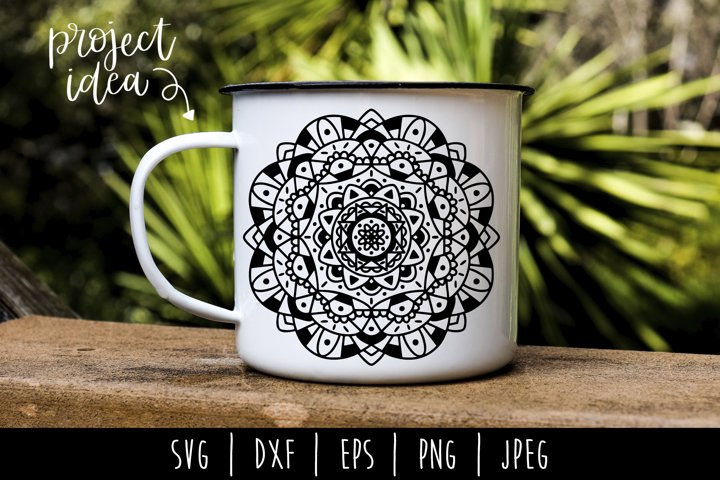 Mandala Mini Bundle Set of 6- SVG example 7