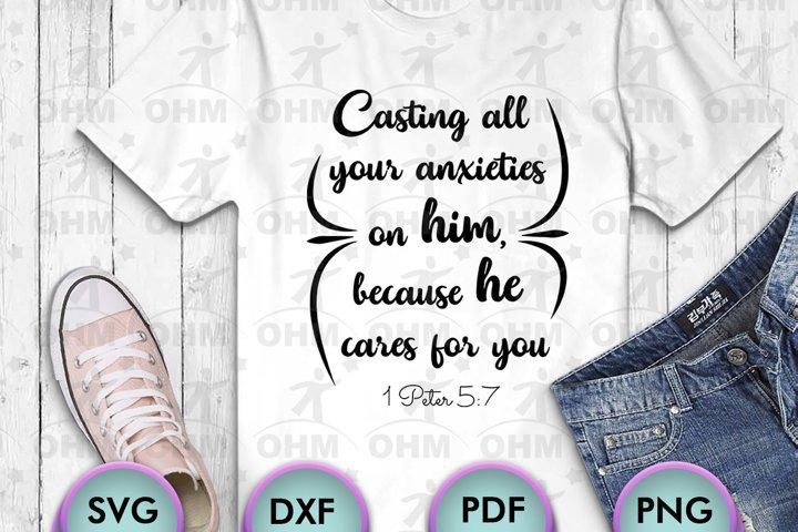 BIBLICAL QUOTES SVG, Christ SVG, 1 PETER 5-20, SVG for Craft