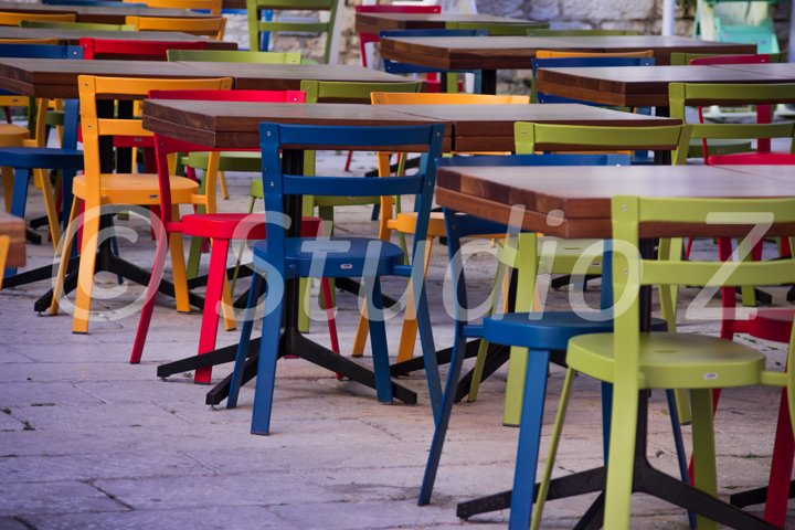 Colored Chairs