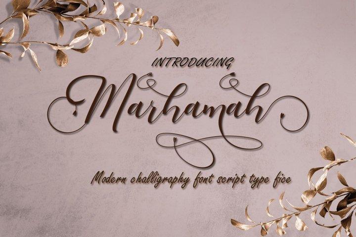 Marhamah
