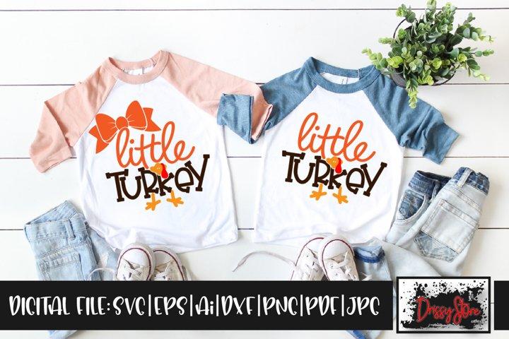 Little Turkey Siblings SVG DXF Ai EPS PDF PNG JPG