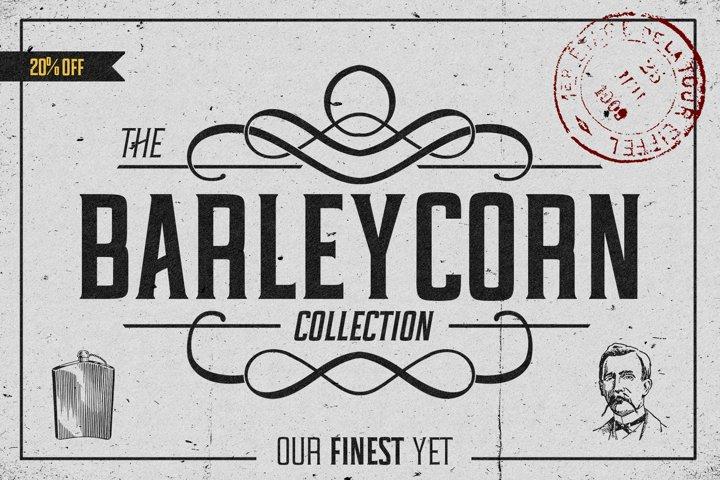 Barleycorn Typeface