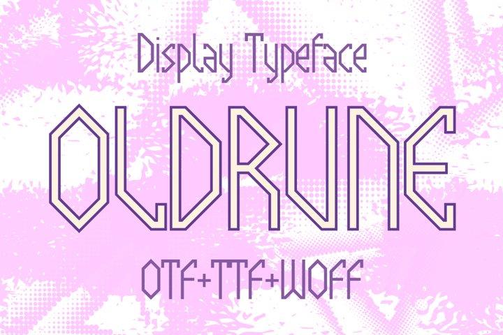 Oldrune font
