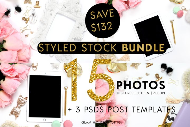 Chic Collection Styled Stock Photo Bundle