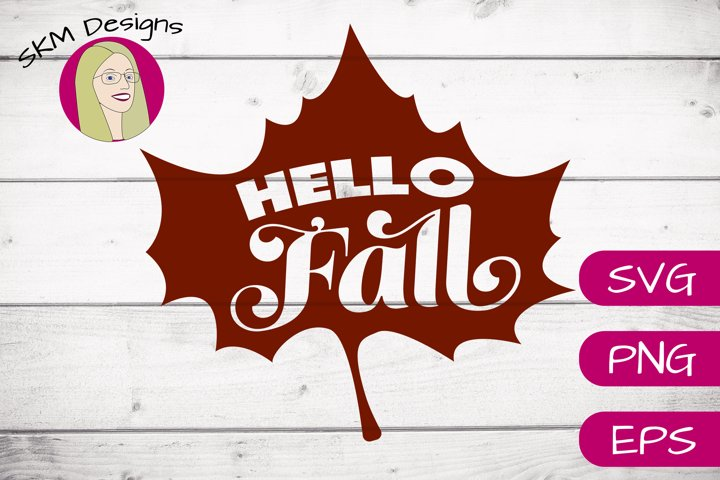 Hello Fall | SVG Cut File
