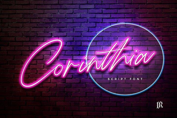 Corinthia Font