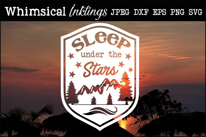 Sleep Under The Stars 2 SVG