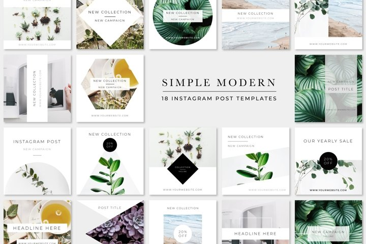 Simple Modern Instagram Pack