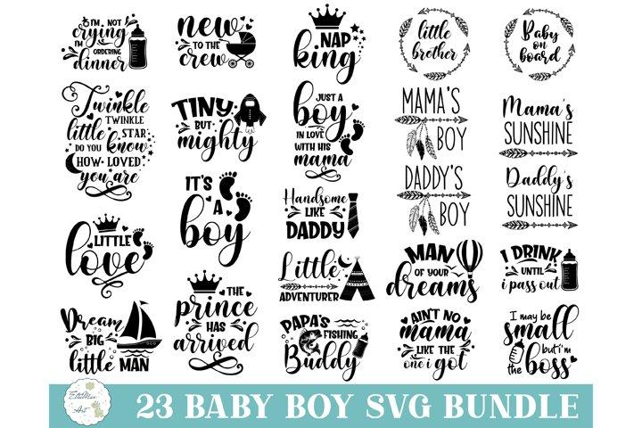 Baby SVG Bundle, Baby Boy Bundle, Baby svg, Baby Quote