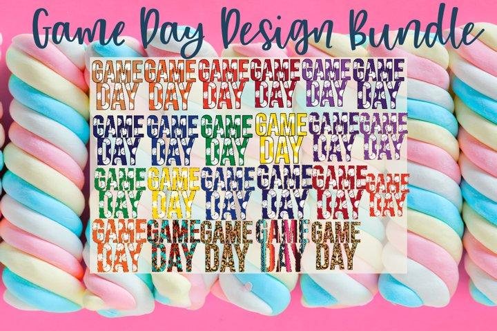 Game Day 24 PNG Design Bundle