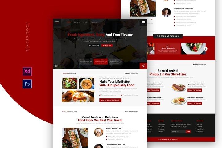 Food Steake   Email Newsletter