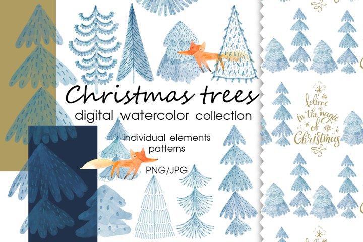 Christmas trees.