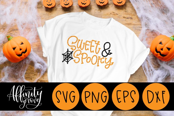 Sweet and Spooky SVG Cut File for Cricut