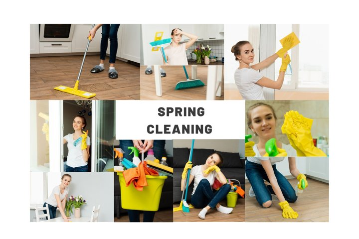 10 photos of house cleaning. Spring cleaning.