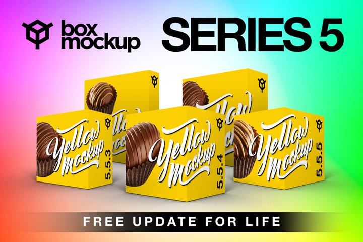 BoxMockup Series 5 Bundle