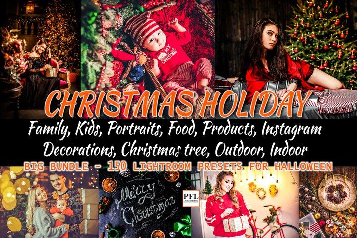 CHRISTMAS Lightroom Presets Bundle for Mobile and Desktop