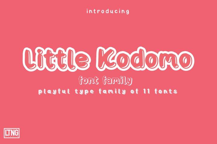 Little Kodomo-playful type family-