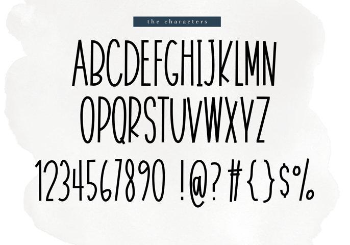 November - A Tall Handwritten Font - Free Font of The Week Design4