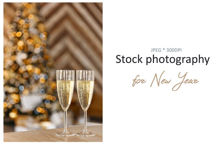 Stock photo of New Year concept